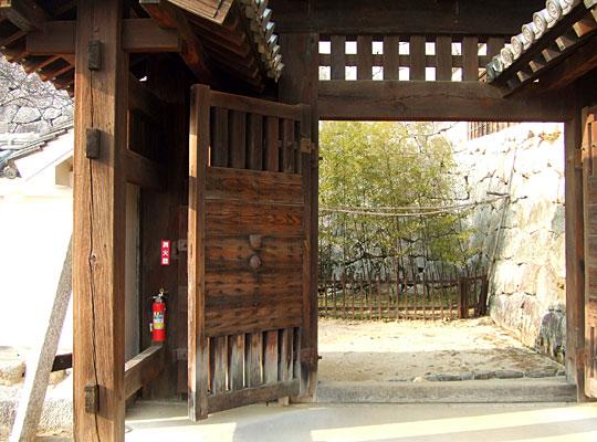 愛媛県松山市 松山城の城門
