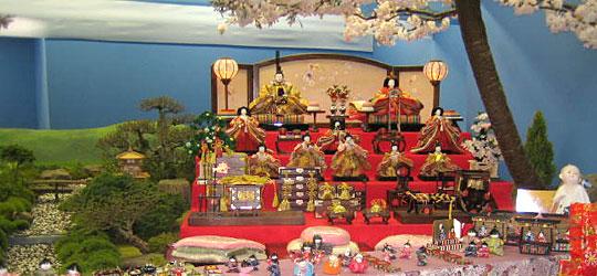 愛媛県八幡浜市真網代地区の雛祭り