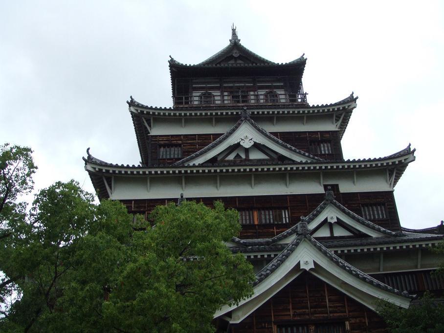広島城 近景